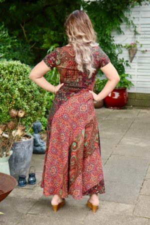 Cassandra - Elegant maxi dress in bohemestyle.