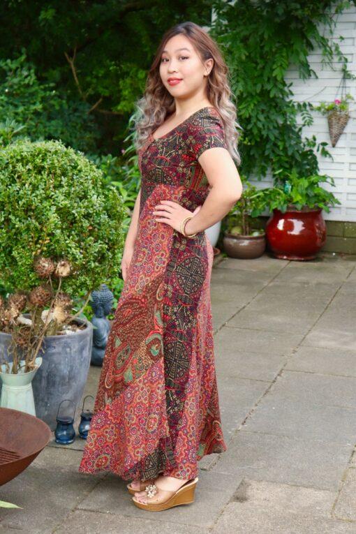 Cassandra - Elegant maxi dress in bohemestyle.