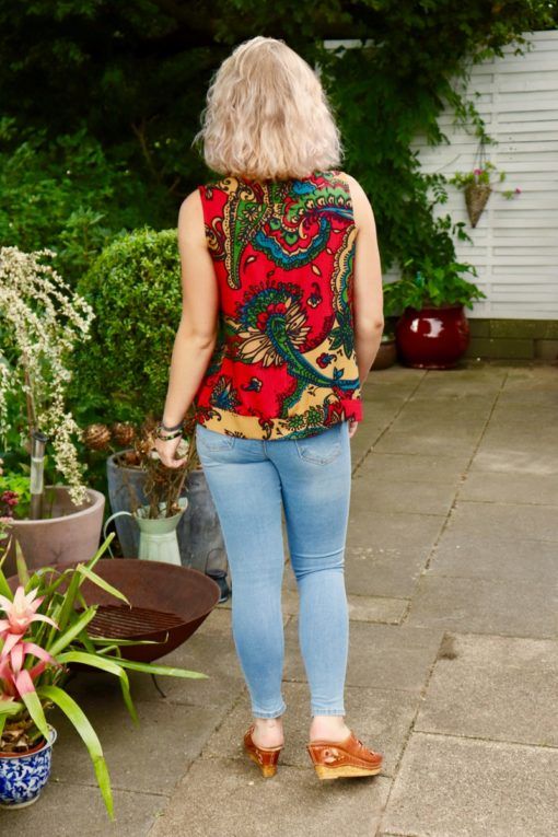 Saliha - Hot boho top. Perfect for the weekdays and a night out.