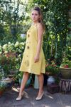 Aelia - Cute yellow retro dress. Perfect for a night out.