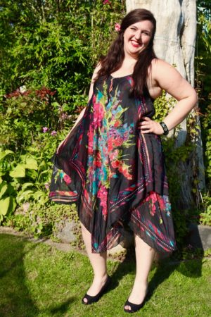 Afrodite - Beautiful black summer dress. Perfect for a night out.