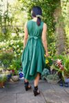 Briseis - Amazing green balloon dress - Perfect for everything!