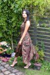 Justina - lækker bohokjole. Perfekt til hverdag og fest.