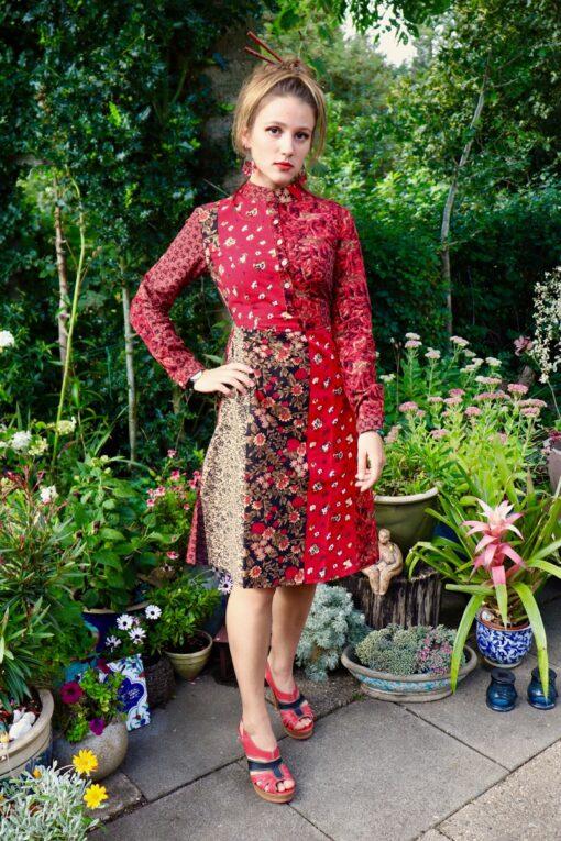 Modesta - Unik hverdags kjole i mange farver - perfekt til en farverig hverdag.