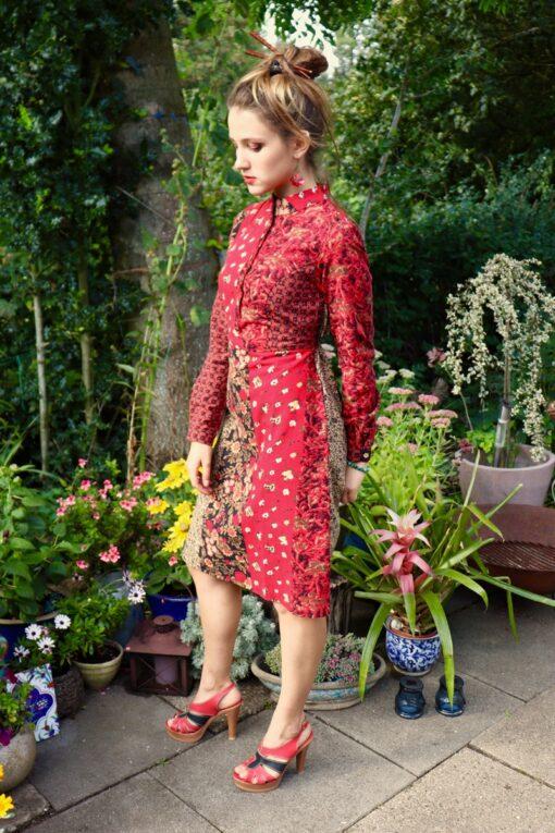 Modesta - Unik hverdagskjole i mange farver - perfekt til en farverig hverdag.