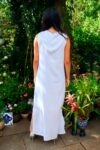 Mytilene - Amazing white maxi dress - perfect for a night out or the weekdays.