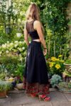 Tesimi - Long black skirt - perfect for the weekday and party.