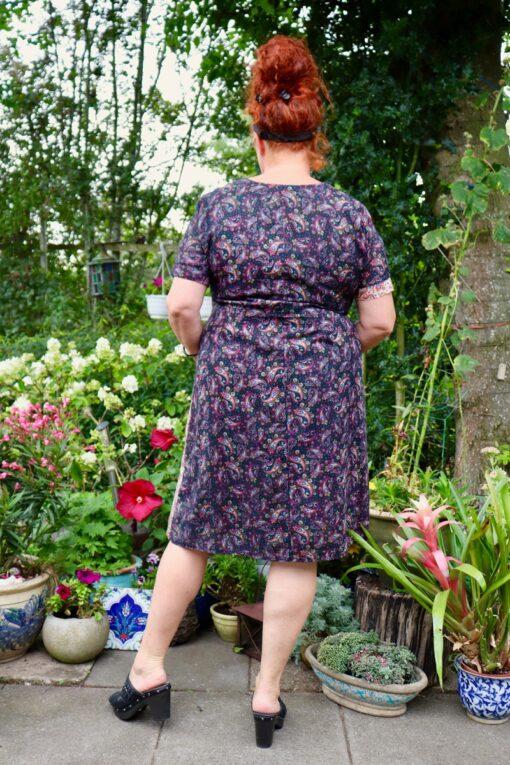 Turrita - lækker kjole i patchwork stil. Kan også bruges som tunika.