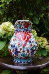 Unik keramik kande, i flotte klare farver