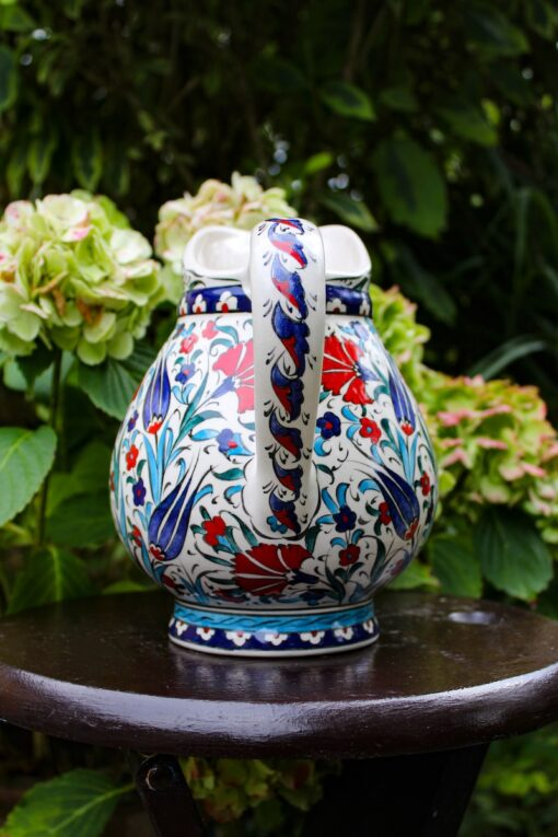 Unik keramik kande i flotte farver - håndlavet blyfri kvalitet