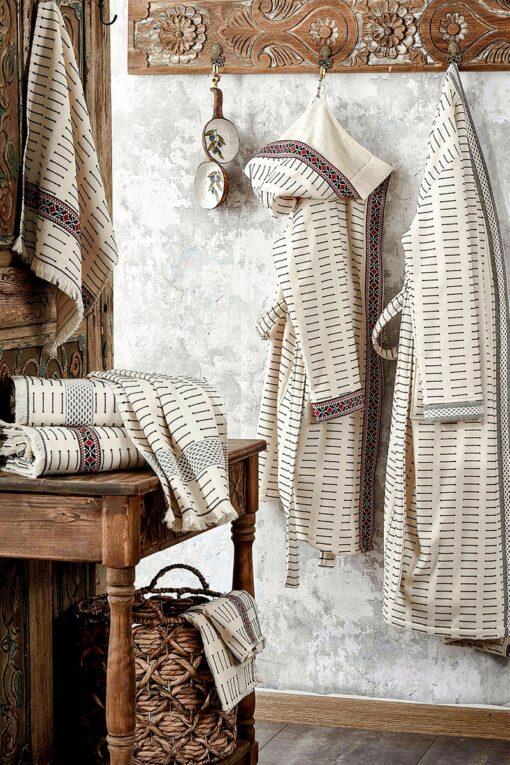 Flotte badekåber og håndklæder i eksklusivt økologisk design til damer og herrer
